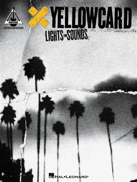 yellowcard lights and sounds sheet music by yellowcard