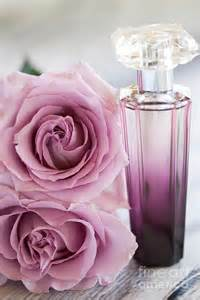 Flower Bottle Perfume - rose perfume photograph by kim fearheiley