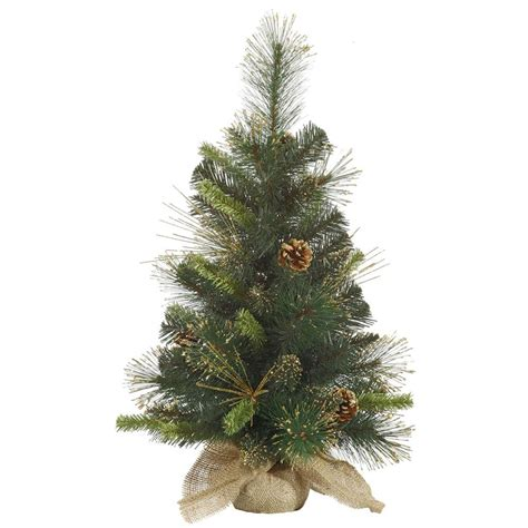 vickerman 27890 2 x 12 quot gold glitter mixed pine with