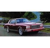 1980 1981 Chevrolet Monte Carlo Turbo The Other Super