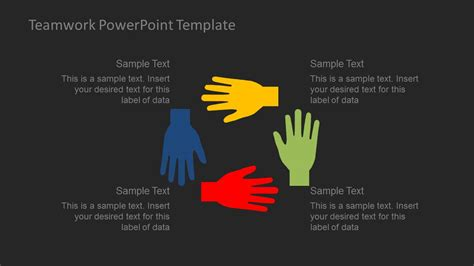 Teamwork Powerpoint Template Slidemodel Teamwork Powerpoint Template