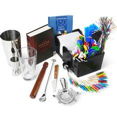 Cocktail Bar Supplies Complete Cocktail Kit Bag Buy Cocktail Equipment