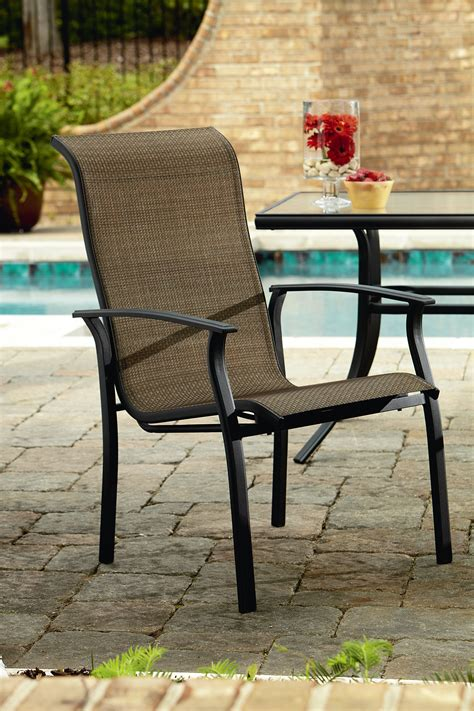 garden oasis harrison 1pk stationary patio dining chair