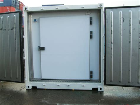 Freezer Container cold storage container gallery team refrigeration