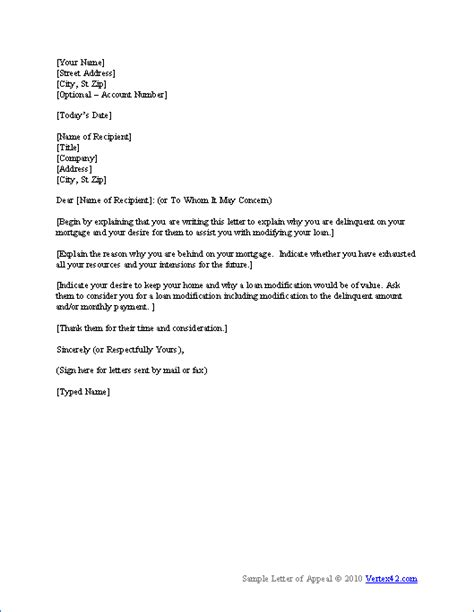 Term Loan Renewal Letter Format The Hardship Letter Template From Vertex42