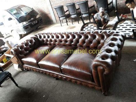 Kursi Sofa Bahan Kulit kursi sofa kulit minimalis anisa mebel jepara pilihan