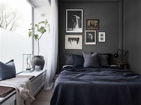 Black Walls Bedroom by 27 Stylish Bedrooms With Black Walls Digsdigs