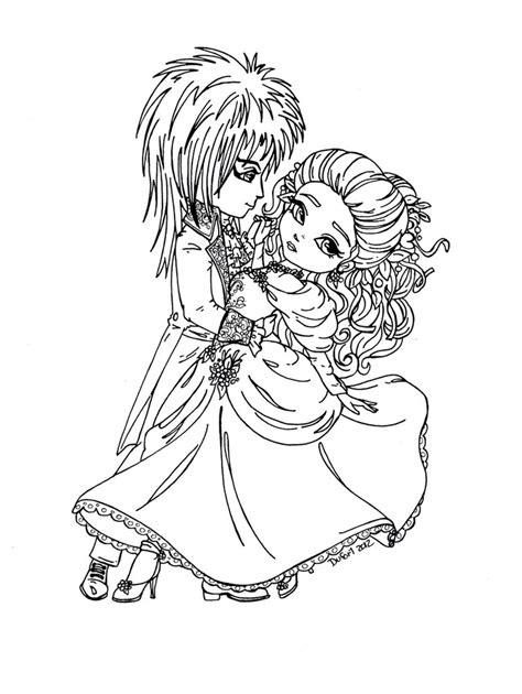 jareth and sarah labyrinth by jadedragonne on deviantart