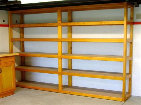 easy garage shelving ideas the home decor ideas