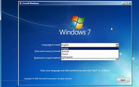 tutorial instal windows 7 how to install windows 7 full tutorial hd doovi