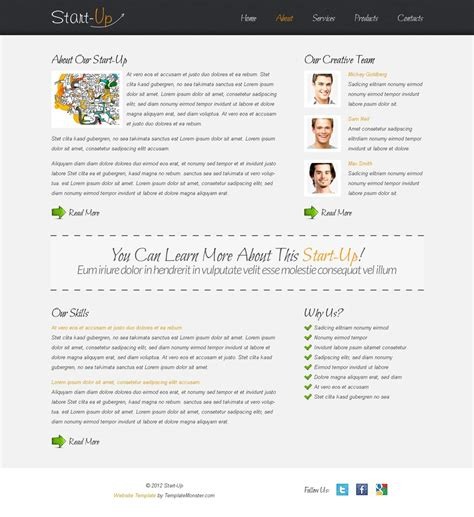 free website template for business free website template for a business website