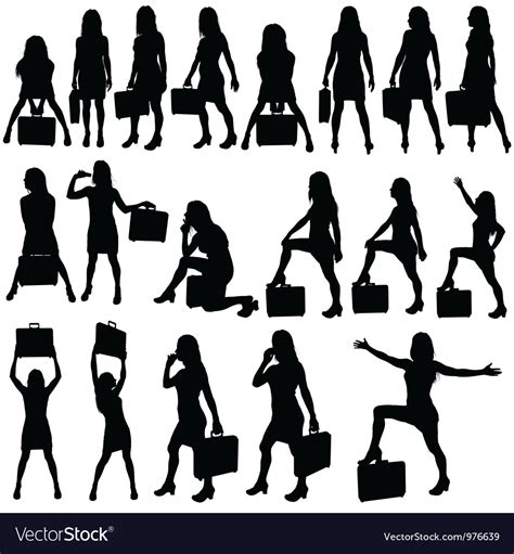 Business Vector Royalty Free Stock Images Image 1449729 Business Silhouettes Royalty Free Vector Image