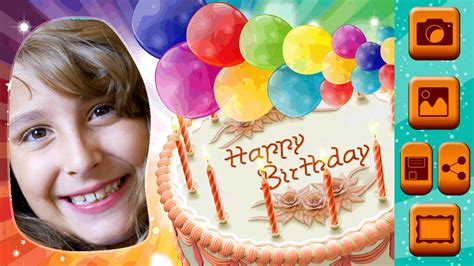 photofunia birthday cake happy birthday picture frames android apps on google play