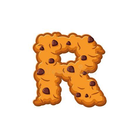 biscotti lettere biscotti della lettera della r fonte biscotto simbolo