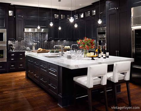 black kitchen cabinets pinterest 39 inspirational ideas for creating a black kitchen photos