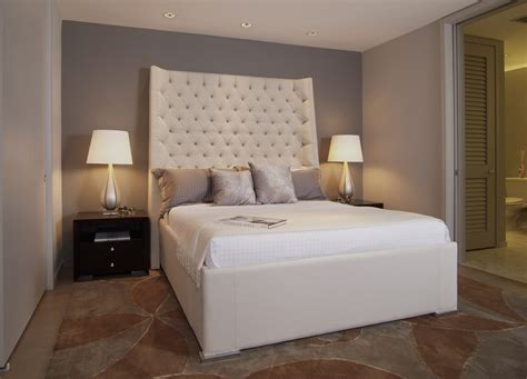 Gorgeous Upholstered Bed mode Atlanta Contemporary Bedroom
