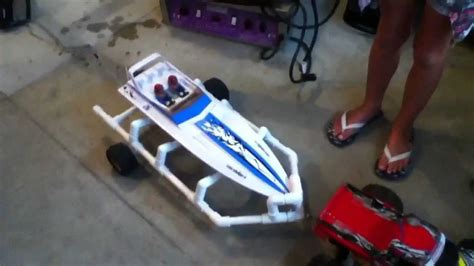 pvc rc boat trailer rc boat trailer youtube