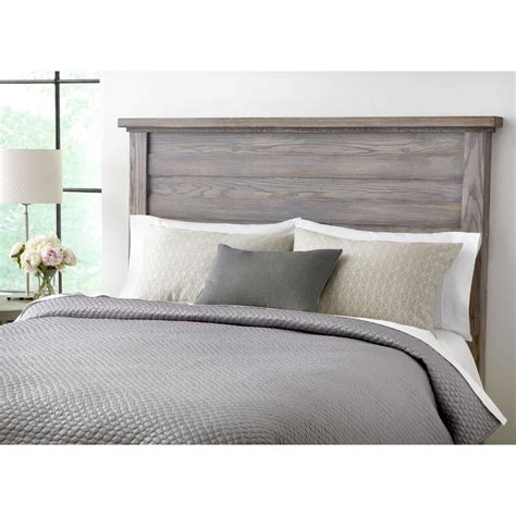 gray wood headboard images about bedroom stains rustic headboards and grey
