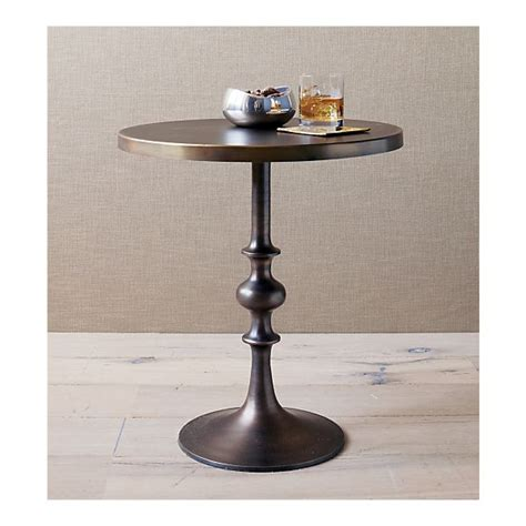 barrel accent table copy cat chic crate and barrel spool accent table
