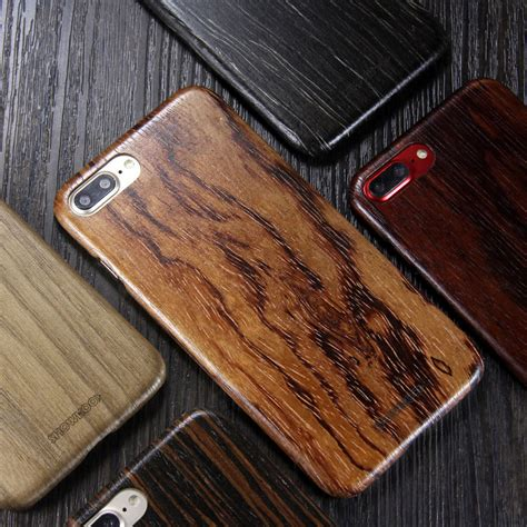 showkoo kevlar natural wood ultra slim case cover  apple iphone  p armor king case