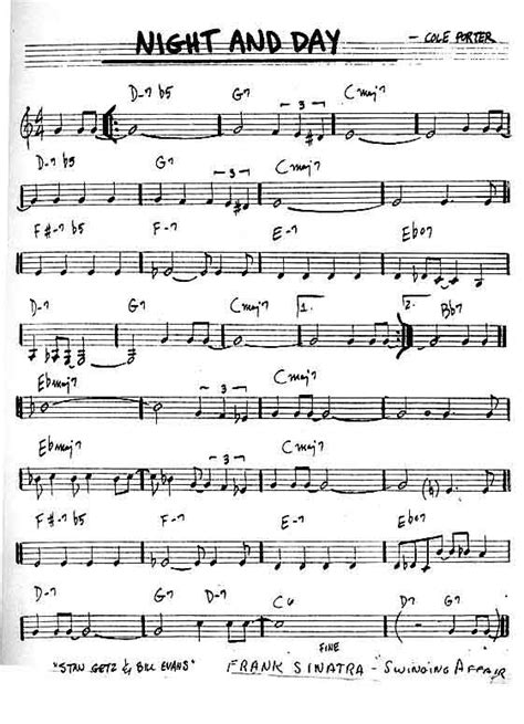 day song free the saxy page sheet