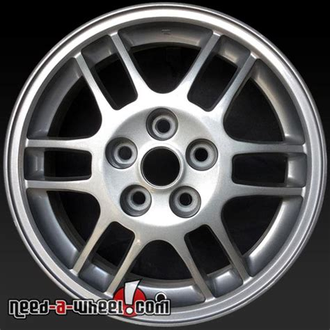 wheels for mitsubishi eclipse 16x6 quot mitsubishi eclipse oem wheels 1999 silver rims 65765