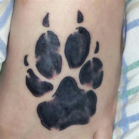 tattoo pattern printer 30 best dog paw tattoos