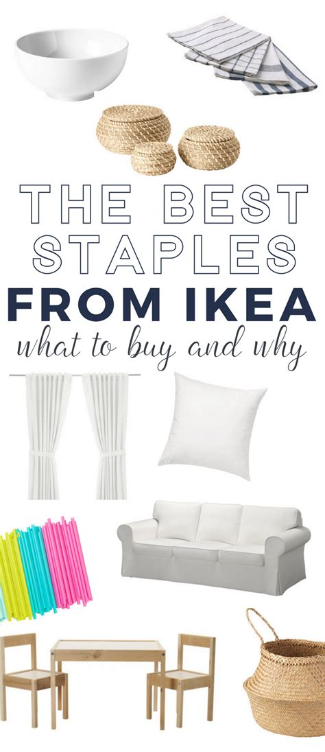 what to buy at ikea the best homes staples from ikea