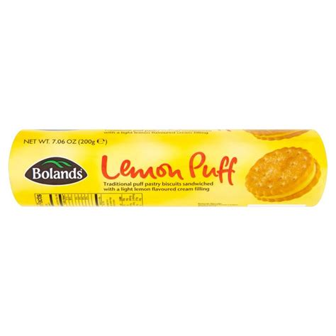 Lemon Puff by Morrisons Bolands Lemon Puff Biscuits 200g Product
