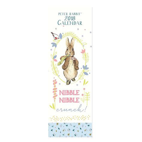 Calendar 2018 Slim Beatrix Potter Slim Calendar 2018 Just For Ewe
