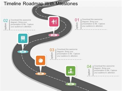 Roadmap Powerpoint Template Reboc Info Milestone Presentation Template