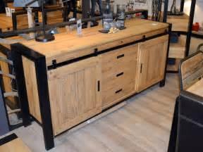 meuble de salle 224 manger style industriel lugano meuble