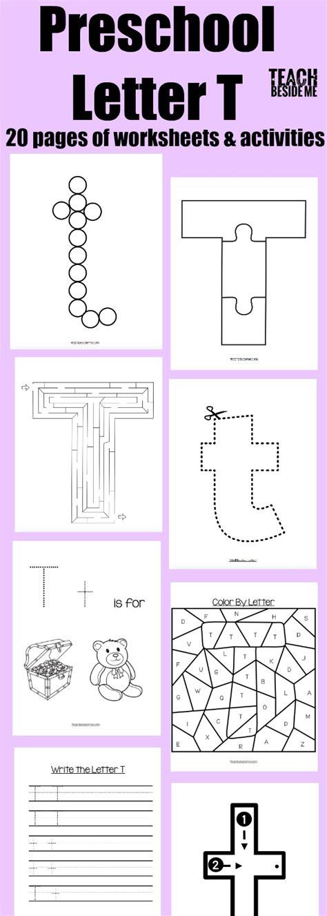 letter t worksheets letter of the week preschool letter t activities 1440