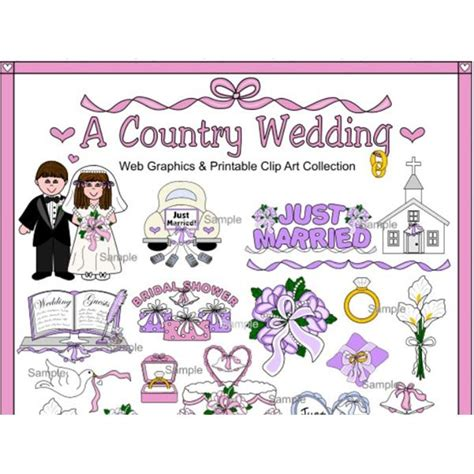 Wedding Themed Borders Clip by Fantastic Resources For Wedding Border Clipart Great For