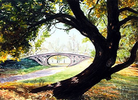 central park ls some of phil s watercolors