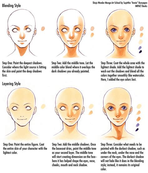 how to color skin how to color skin tones by impactbooks on deviantart