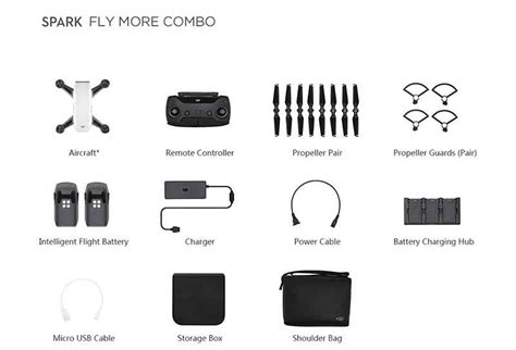 Dji Spark Combo 848 80 dji spark fly more combo white cameras direct