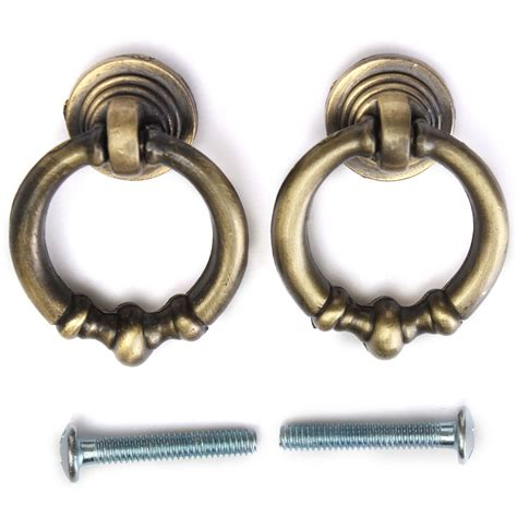drop pull cabinet hardware 2pcs antique cabinet drop ring pulls cupboard