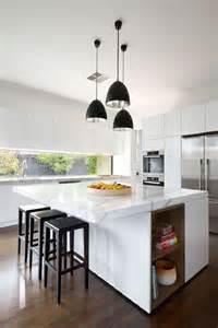 Modern Kitchen Island Lighting Ideas Cozinha Ilha Cozinha Americana 25 Modelos E Fotos