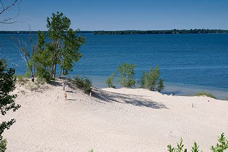 sand banks ontario news happy canada day