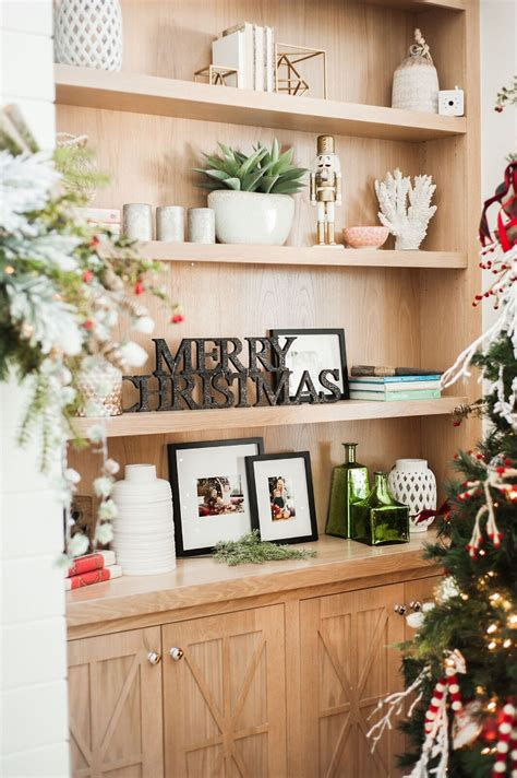 bookcase christmas decorating ideas christmas decorating ideas home bunch interior design ideas