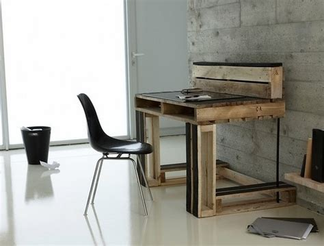 Diy Home Office Furniture Affordable And Easy Pallet Wood Ideas Dearlinks