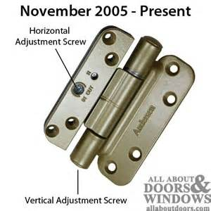 andersen 400 series door hinges identifying andersen frenchwood door hinges