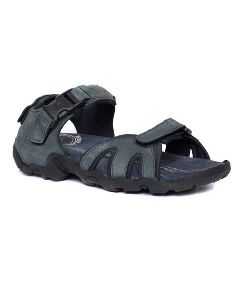 woodland leather sandals woodland navy leather sandals for price in india buy