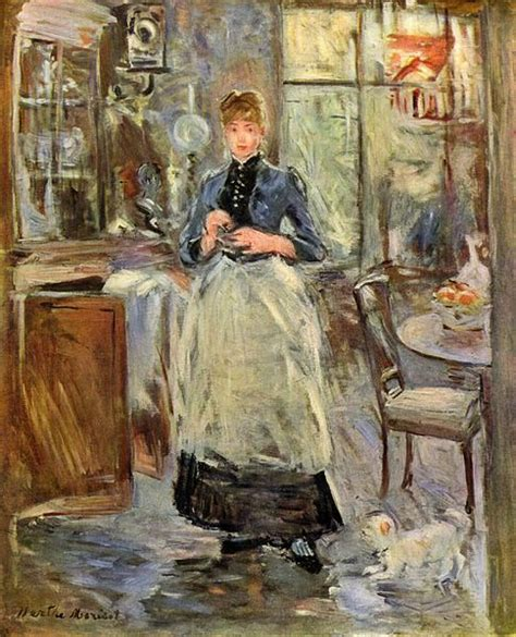 In The Dining Room Berthe Morisot by How Painting Can Help Save The World Actually
