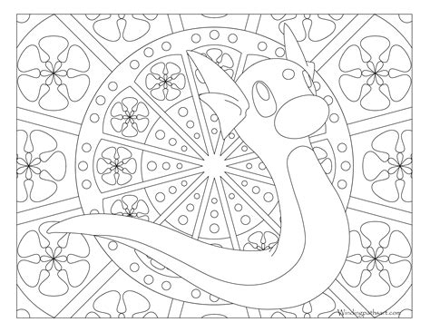 pokemon coloring pages dratini 147 dratini pokemon coloring page 183 windingpathsart com