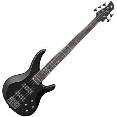 Bass Sting Black yamaha trbx305 5 string bass guitar black at gear4music