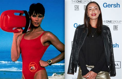 actress in baywatch the movie the baywatch movie the original cast vs the new cast