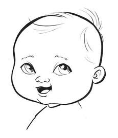 cartoon drawings of babies archives pencil drawing