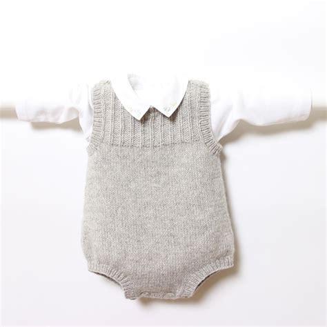knitting pattern newborn romper 41 baby romper knitting pattern by florence merlin
